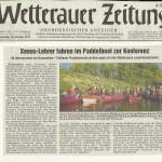 Wetterauer Zeitung vom 18. Oktober 2012
