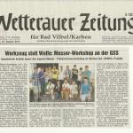 Wetterauerzeitung vom 21. August 2012