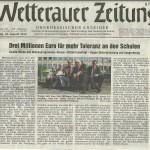 Wetterauer Zeitung 24. August 2012