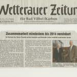 Wetterauer Zeitung vom 24. November 2012