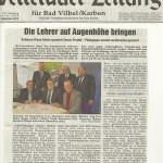 Wetterauer Zeitung vom 27. Dezember 2012