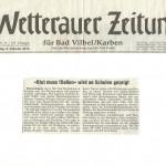 Wetterauer Zeitung vom 9.2.2013