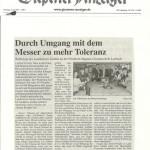 Gießener Anzeiger 7. Juli 2012