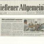 Gießener Allgemeine 5. Juli 2012