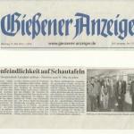 Gießener Anzeiger 15. Mai 2012