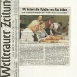 Wetterauer Zeitung 11. April 2012