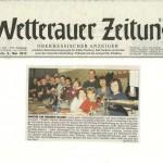 Wetterauer Zeitung 2. Mai 2012