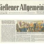 Gießener Allgemeine vom 15.03.2013