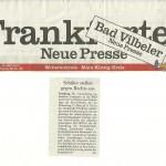 Frankfurter Neue Presse vom 19.03.2013