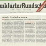 Frankfurter Rundschau vom 22.03.2013