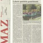 MIttelhessische Anzeigen Zeitung vom 16.10.2013