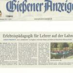 Gießener Anzeiger vom 18.10.2013